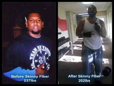 James went from 237 lbs to now 202 lbs