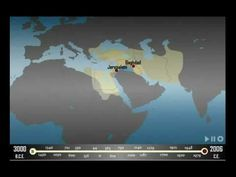 Western Asia, Empires 5000 Years Time Lapse Map
