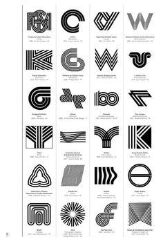 Logo Modernism, a new Taschen book out next month by German graphic designer Jens Müller, is a brilliant catalog of trademarks from Www Logo, Logo Branding, Branding Design, Brand Identity, Corporate Logo Design, Corporate Branding, Inspiration Logo Design, Logo Luxury, Logo Minimalista