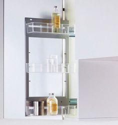 15.831.A - Nadstawiana półka Pleno 450/ antracyt - Peka Bathroom Medicine Cabinet, Corner, Magic, Gallery, Roof Rack