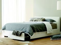 Love the storage box ideas for a guest bedroom - for sheets, blankets, pillows, etc.