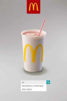 McDonald's: Strawberry Milkshake