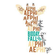 Alpha Epsilon Phi, Sorority Symbol, T-Shirt *All designs can be customized for your organization or chapter's needs!