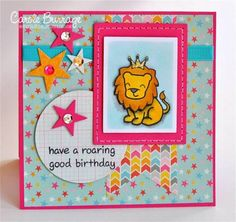 Mojo299: Lion King by TruCarMa - Cards and Paper Crafts at Splitcoaststampers