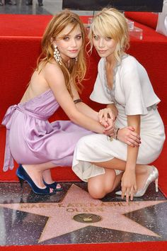Mary Kate and Ashley Olsen *I watched every movie and show they were in growing up.*