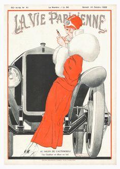 La Vie Parisienne, 1922 // Georges Pavis
