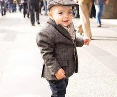 Gentlemanly baby