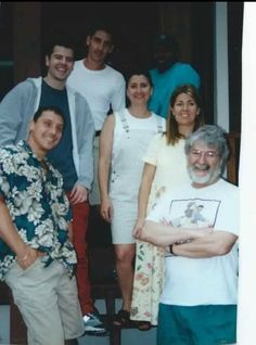 Knight familiy: Dave, Jordan, Jonathan, Chris, Shannon, Allison & Daddy rev. Allan Knight