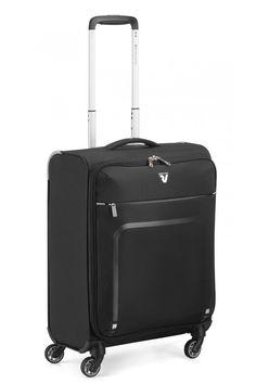 Roncato Kabinentrolley 'Lite Plus' in grau / schwarz Suitcase, Bronze, Retro, Box, Material, Black, Products, Design, Grey
