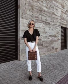 5 formas elegantes e estilosas de usar flats - Graziela Almeida pantacourt outfit summer Outfits Plus Size, Basic Outfits, Classy Outfits, Casual Outfits, Fashion Outfits, Lookbook Mode, Fashion Lookbook, Minimal Fashion, Trendy Fashion