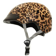 Leopard Helmet, $150, now featured on Fab.
