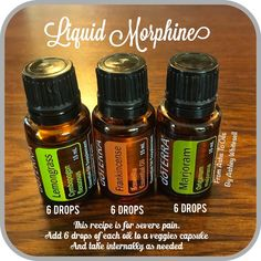 In pain and can't get a handle on it? Try this blend! Follow me on Instagram: https://www.instagram.com/fromashstooilsbyashley/ Order your oils at: http://mydoterra.com/teamwhitesell