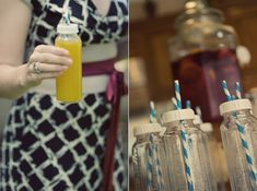 Serve drinks in a baby bottle for a fun baby shower idea! Shop for the Mommy-to-be at Beauty.com.
