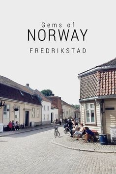 Places to visit: Fredrikstad Old town, in Norway. Lillehammer, Bergen, Oslo, Oh The Places You'll Go, Places To Visit, Fredrikstad, Alesund, Road Trip, Visit Norway