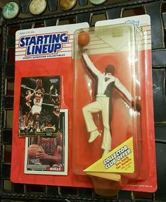SCOTTIE PIPPEN 1993 Starting Lineup NBA NEW UNOPENED Action Figure Cards BULLS #Kenner