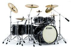 #Tama Starclassic Bubinga #Drums : Piano Black