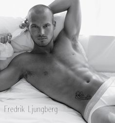 Ladies, meet Freddie. I think he gives Beckham a run for his money. Did I mention he is Swedish?