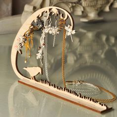 Woodland Jewellery Stand S by Amanda Coleman