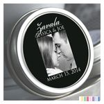 Personalized Elegant Photo Mint Tin