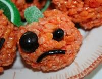 Oh sad rice krispie treat pumpkin.