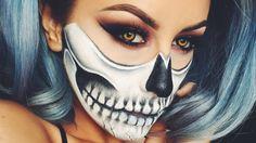 Halloween Skull Makeup - Chrisspy Best Video.. Sexy look for halloween