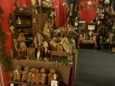 Sassafras Hill Primitives @ Deerfield Christmas Sampler Craft Fair