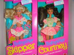 Barbie, Babysitter Skipper and Courtney