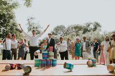 blikkengooien is een leuke tip voor spelletjes op je bruiloft foto:www.lifefromtheinside.nl