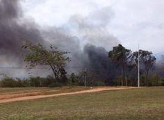 # Noticiário de Hoje #: SALVADOR: Incêndio de alta proporção atinge área p...