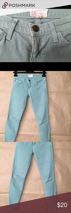 Current/Elliott Mint Jeans Comfy, fun and tight, makes the booty look great! Current/Elliott Jeans Skinny