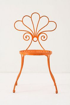 Le Versha Chair, Orange #anthropologie