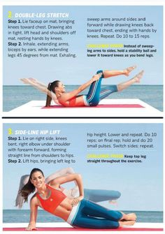 Tummy-Toning Strenght moves