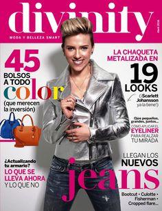 Revista #DIVINITY 25, #abril 2016. 19 #looks Scarlett Johansson divina en nuestra portada. Lo que se lleva ahora y lo que no en Divinity.