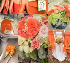 wedding ideas for summer try it orange wedding decoration Orange wedding decoration is fantastic and young! With this orange color, yourwedding will be dynamic and . Peach Wedding Theme, Tangerine Wedding, Orange Wedding Colors, Summer Wedding Colors, Peach Colors, Wedding Themes, Wedding Flowers, Wedding Ideas, Dream Wedding
