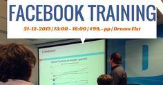 Kom je ook naar mijn #Facebook training op 21 december? 1 van de cursusonderdelen is de combinatie met #Hootsuite.