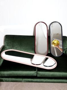Oval Mirrors – Coming Soon Apartment Needs, Apartment Living, Lexington Home, Led Furniture, Oval Mirror, Sunglasses Case, Zip Around Wallet, Two By Two, Pairs