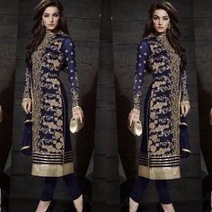 Checkout this heena Khan georgette embroidered suit  Description :  Chest 48 free size semi stiched Length 44 Inner & bottom - silk Duppata - chiffon  Sale Price : 1300 INR Only ! #Booknow  CASH ON DELIVERY Available In India !  World Wide Shipping !   For orders / enquiry  WhatsApp @ 91-9054562754 Or Inbox Us  Worldwide Shipping !  #SHOPNOW