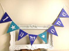 I Am One, 1 Banner, Bunting, Cake Smash Banner, Boys Birthday , Girls Birhday on Etsy, $10.00 CAD
