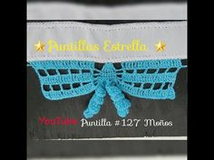 *** Puntilla #127 Moños - YouTube