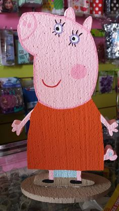 Momma Pig Centerpiece