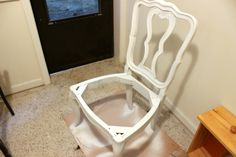 How to Reupholster a Dining Chair Seat - Tastefully Eclectic