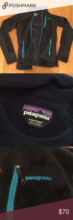 Patagonia Women's R2® Fleece Jacket in Blue Worn a few times, VERY comfortable and cute on, quality is like brand new! Patagonia Jackets & Coats