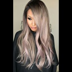 Hints of color #balayage #ombre by Guy Tang