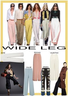 How To Wear- Wide Leg Trousers. Words by Rosie Feenstra. www.kit-magazine.com