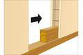 fiche conseil pour monter une cloison en panneaux alv olaires sur une armature en bois fiche. Black Bedroom Furniture Sets. Home Design Ideas