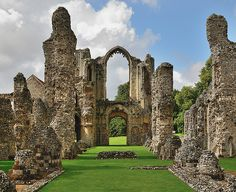 Castle Acre Priory, Norfolk, England.