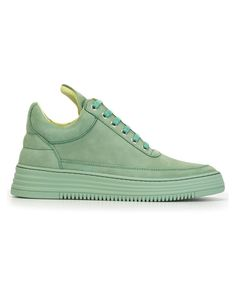 Filling Pieces | Green 'low Top' Sneakers | Lyst