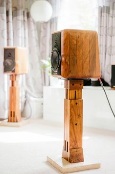 Very nice Sonus Faber Electra Amator speakers with their wooden stands