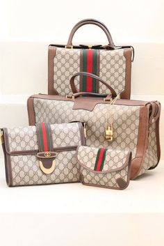 720ad089de4 Vintage Paris  GUCCI collection Beautiful Bags