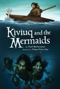 (Inhabit Media) Kiviuq, one of the greatest and most important characters in Inuit mythology, is said to have travelled over land and sea overcoming obstacles and successfully defeating various fearsome foes. In Kiviuq and the Mermaids, young readers experience one of Kiviuq's most heartpounding adventures: an encounter with a group of frightening mermaids. With only his qayaq to keep him out of their clutches, Kiviuq must think fast to defeat these angry creatures of the deep!